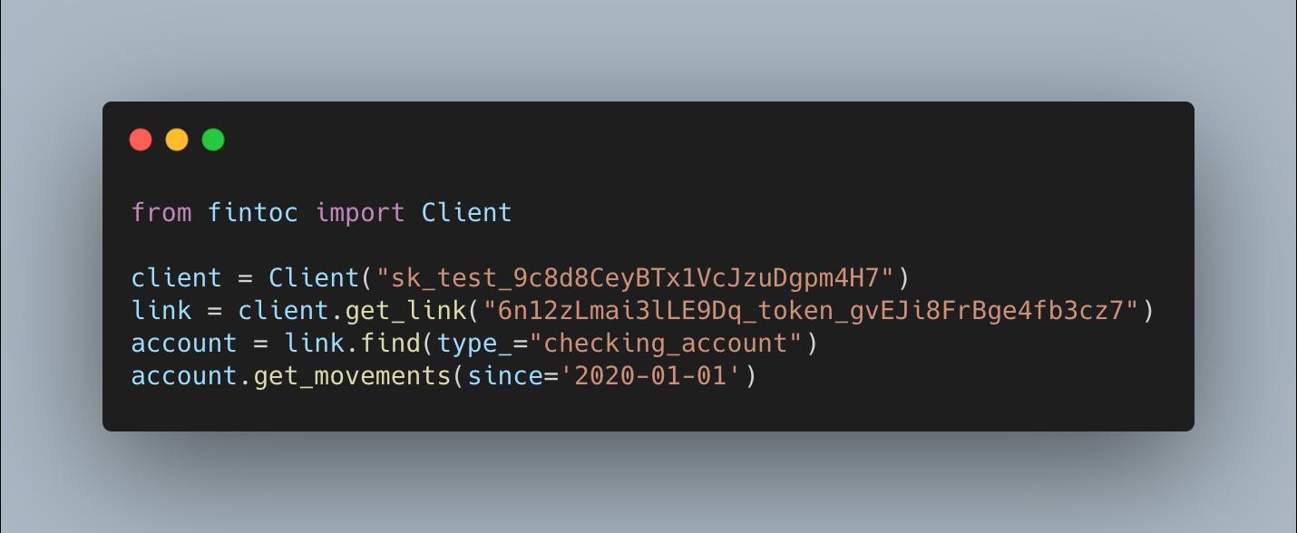 Librería en Python para nuestra API